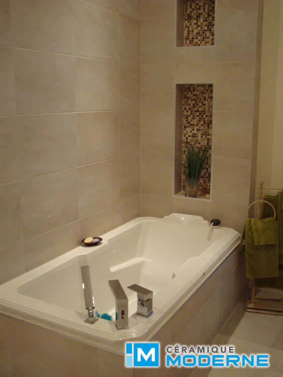 C ramique moderne salles de bain for Ceramique murale salle de bain